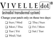 Determine Your Schedule for Your Twice-a-Week Application