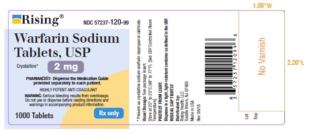 2 MG-1000 COUNT LABEL