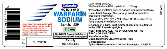 Warfarin Sodium tablets