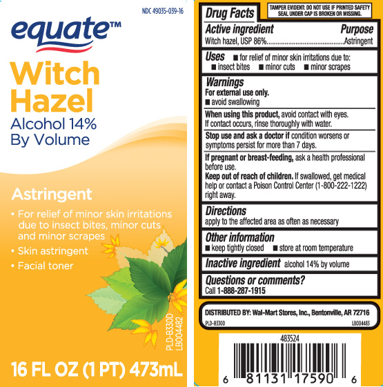 Witch Hazel, USP 86%