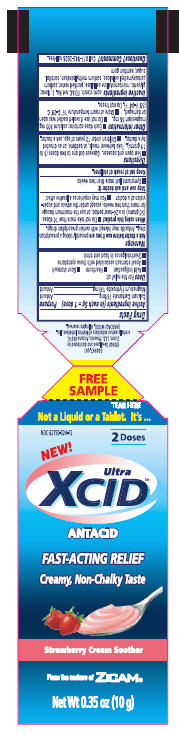 Ultra Xcid Antacid   Matrixx Initiatives, Inc. while Breastfeeding