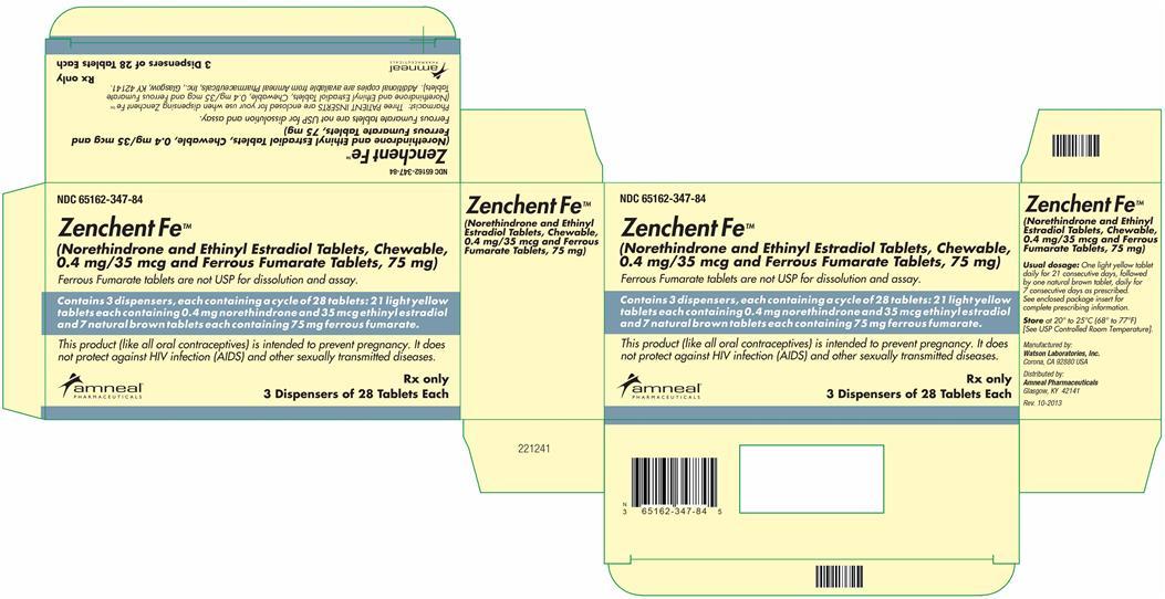 Zenchent Fe | Norethindrone And Ethinyl Estradiol Kit Breastfeeding