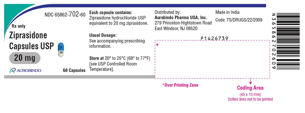 PACKAGE LABEL-PRINCIPAL DISPLAY PANEL - 20 mg (60 Capsules Bottle)