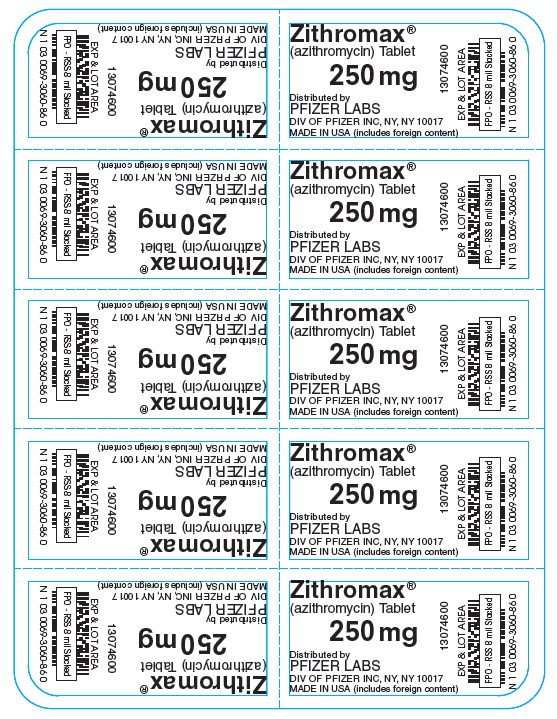Principal Display Panel - 250 mg - 10 ct. Blister Pack