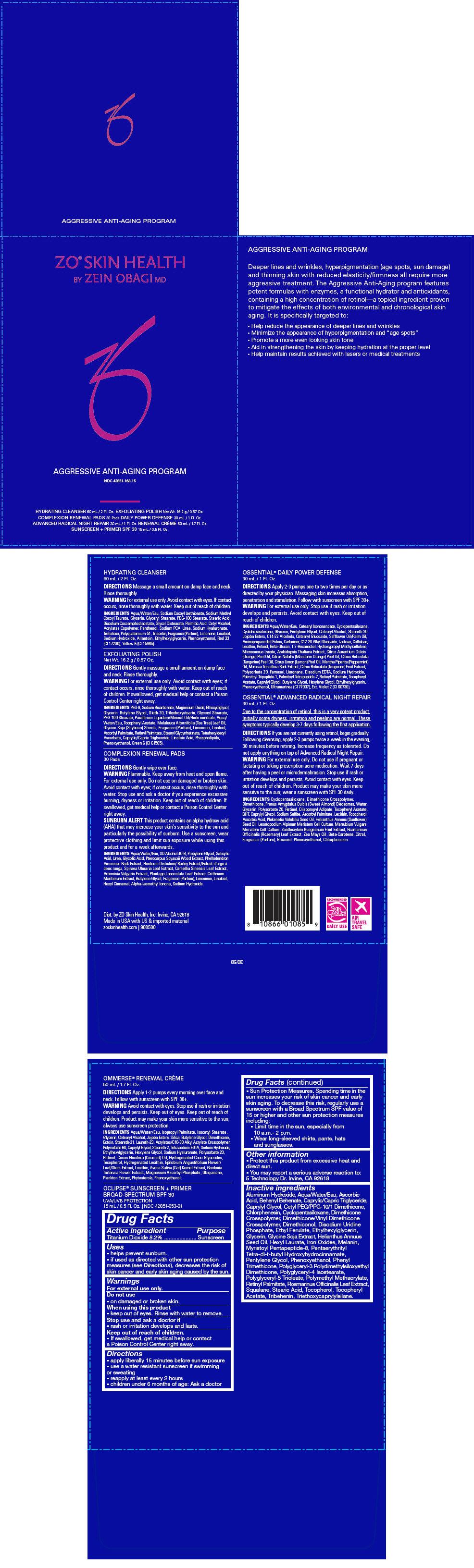 Zo Skin Health Aggressive Anti-aging Program   Titanium Dioxide Kit while Breastfeeding