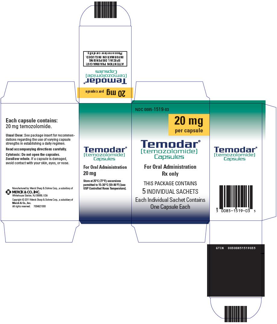 PhactMI TEMODAR® (temozolomide) Capsules (temozolomide) for