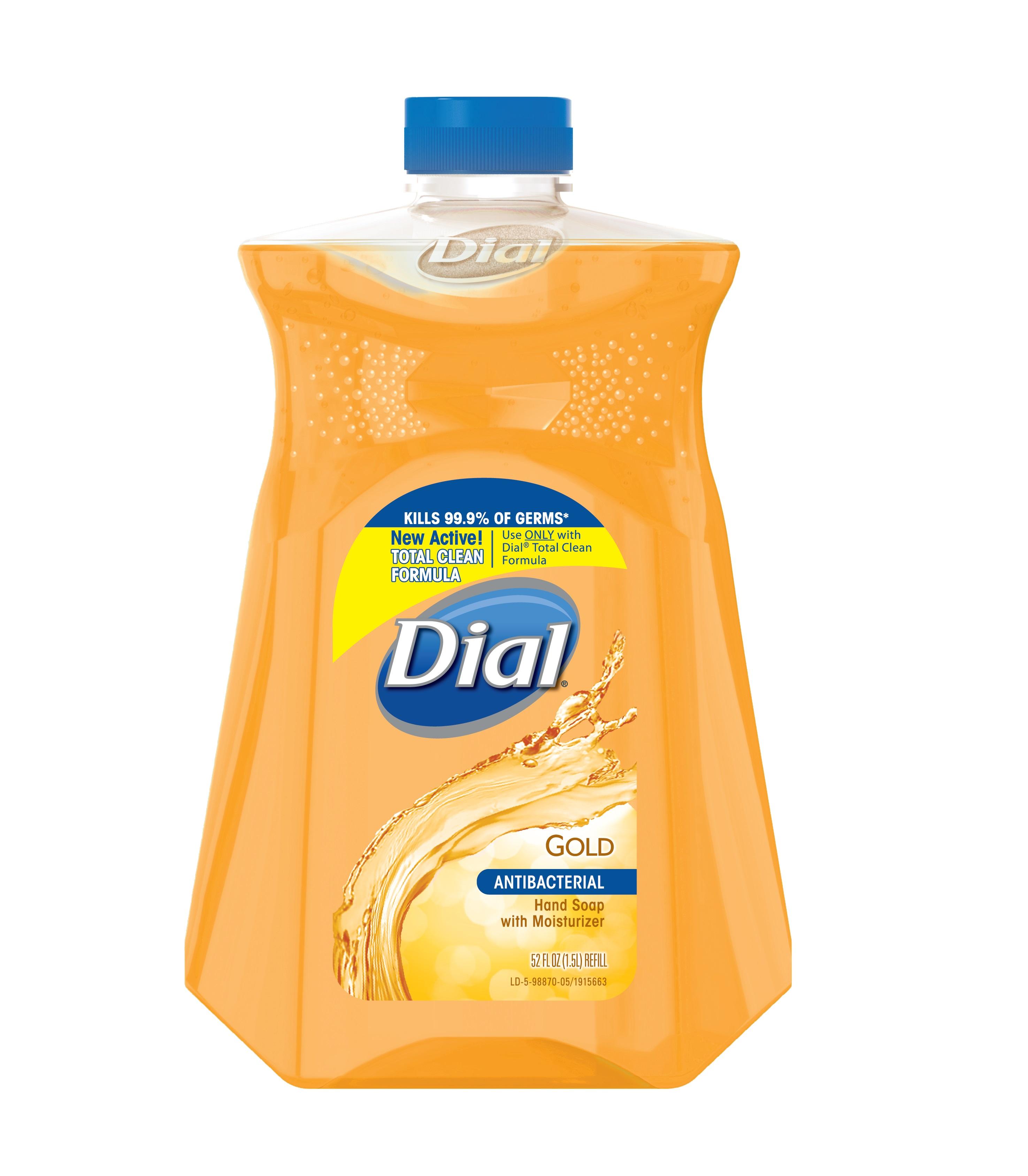 Dailymed Dial Antibacterial Hand Wash Dial Gold