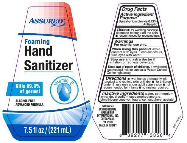 Assured Foaming Hand Sanitizer Information Side Effects
