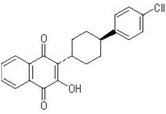 Atovaquone Chemical Structure