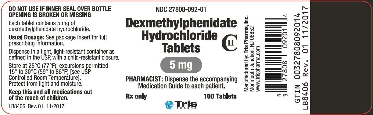 Dexmethylphenidate Hydrochloride - dexmethylphenidate hydrochloride image