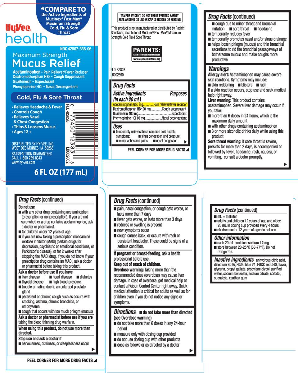 Mucus Relief Cold Flu And Sore Throat Maximum Strength