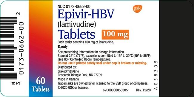 Epivir HBV OS carton