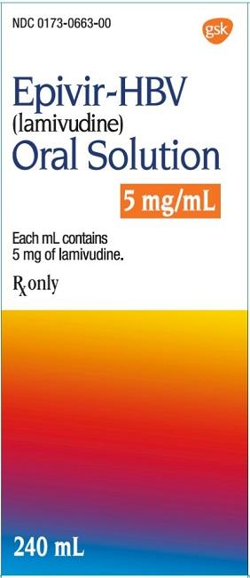 Epivir HBV 100mg Tablet label