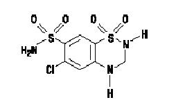 HCTZ Chemical Structure