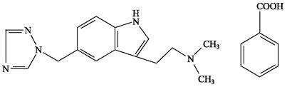 Rizatriptan Benzoate - rizatriptan benzoate image