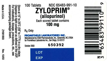 Zyloprim Information Side Effects Warnings And Recalls