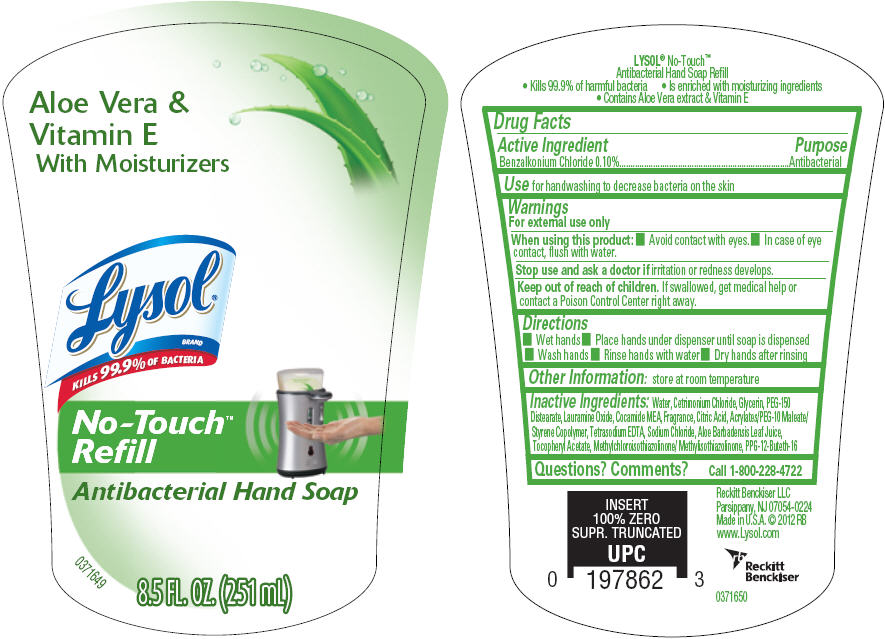 Dailymed Lysol No Touch Benzalkonium Chloride Solution