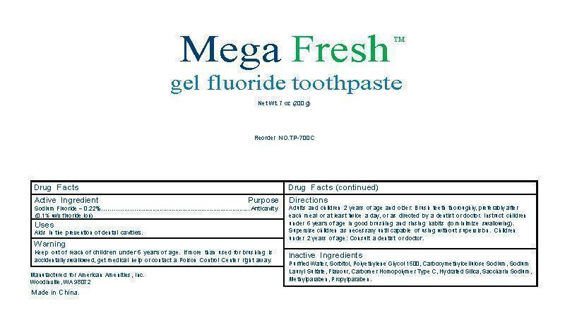 prescription drugs manufactured by american amenities inc recall
