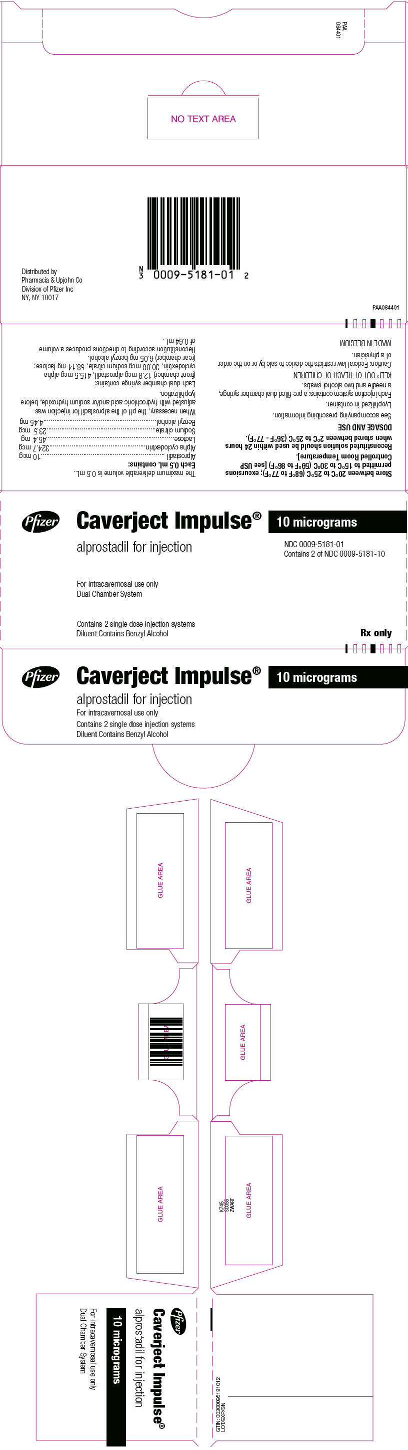 Where To Inject Intracavernosal Injections : Dailymed caverject impulse alprostadil injection