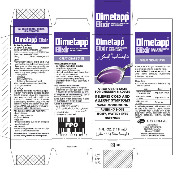 Dimetapp Information Side Effects Warnings And Recalls