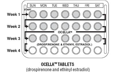 Ocella Birth Control DailyMed - OCELLA - dr...