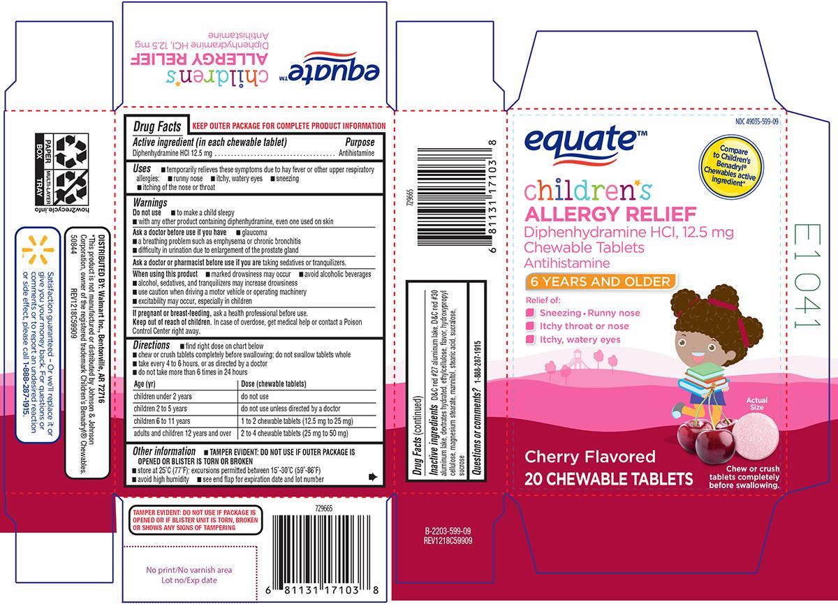 Children's Benadryl® Chewables - DailyMed