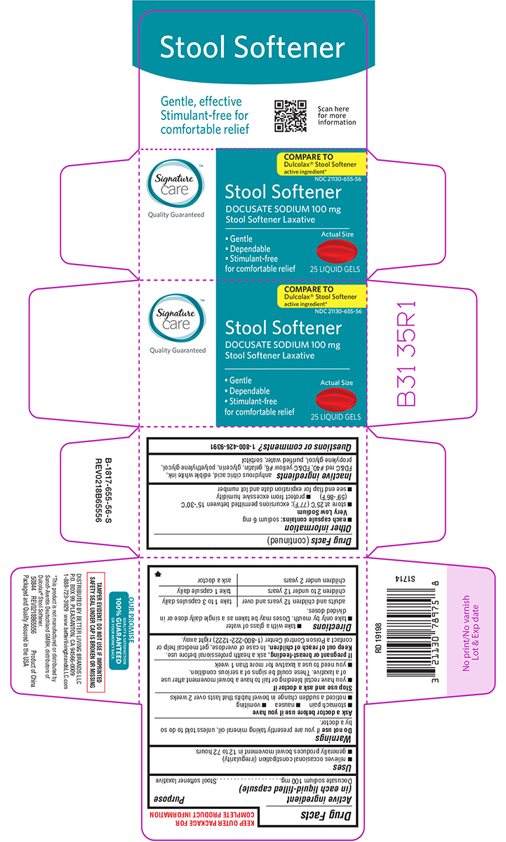 Dailymed Stool Softener Docusate Sodium Capsule Liquid