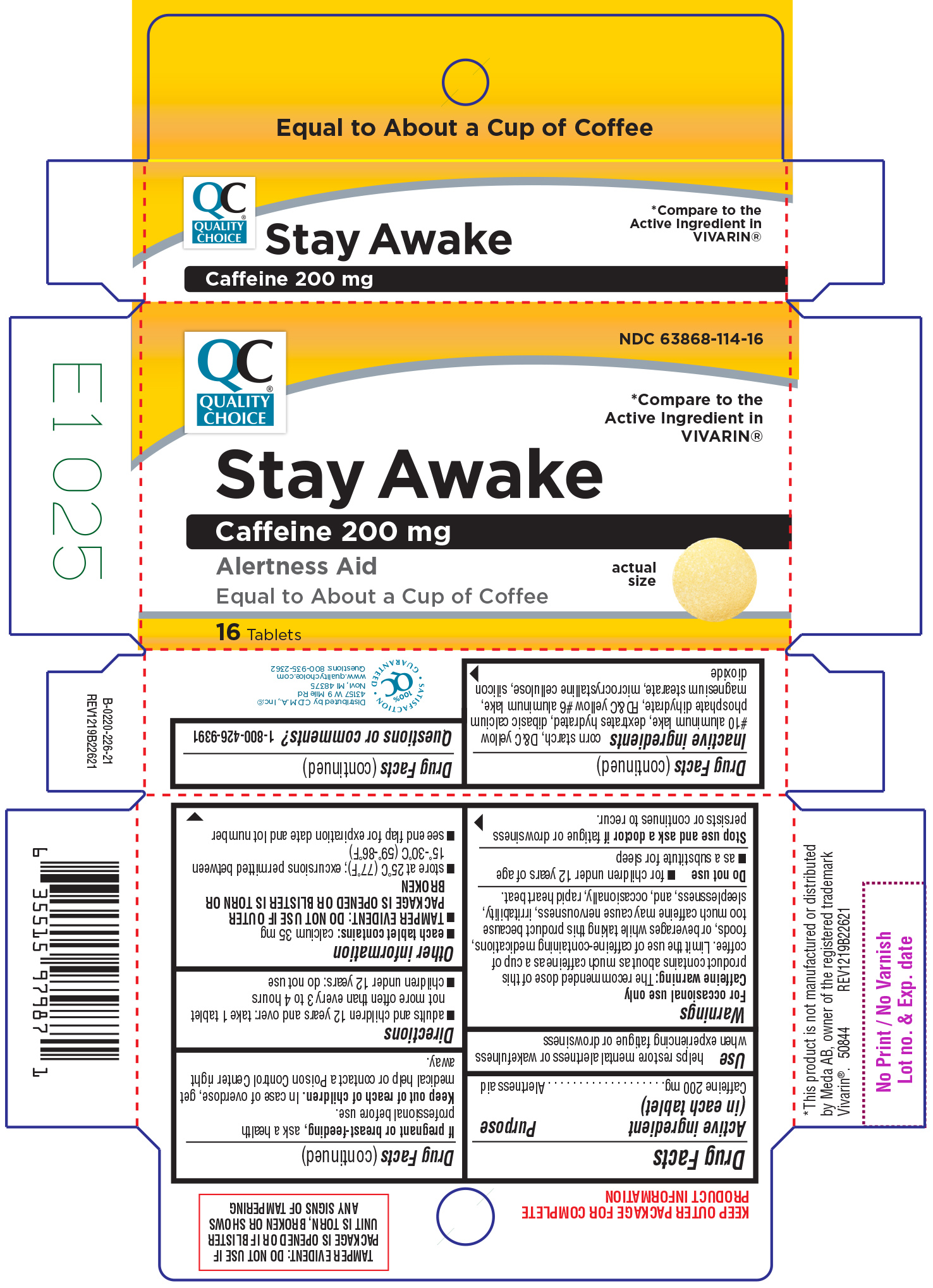 Stay Awake Information, Side Effects, Warnings and Recalls