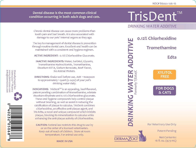 Dailymed Trisdent Chlorhexidine Gluconate Liquid