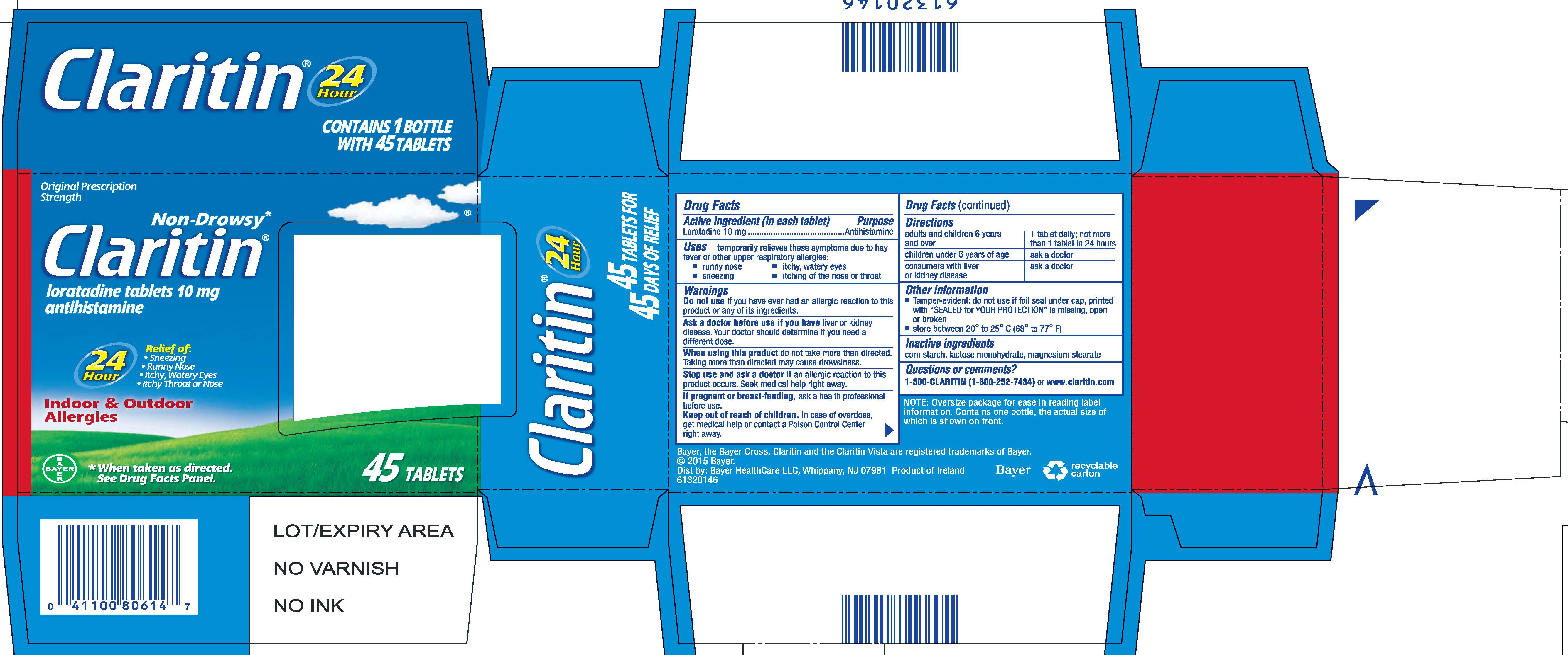 Claritin - loratadine image