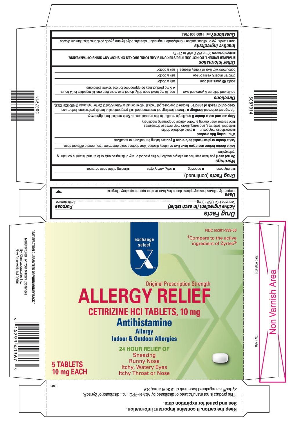 cetirizine hydrochloride 10 MG Oral Tablet - Pill Identification