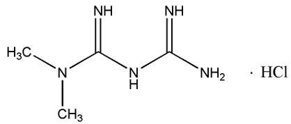 Metformin Hydrochloride - metformin image