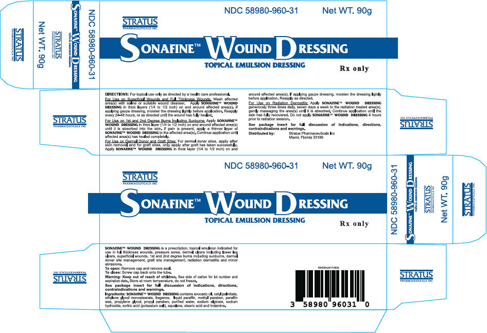 Sonafine Wound Dressing Information Side Effects