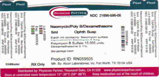 Neomycin And Polymyxin B Sulfates And Dexamethasone