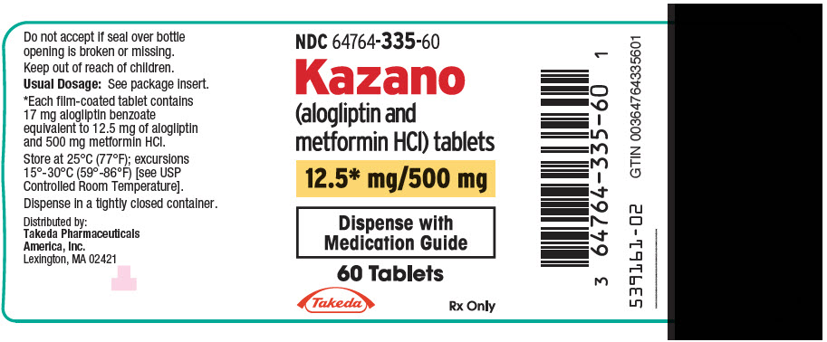 PhactMI KAZANO® (alogliptin and metformin HCl)