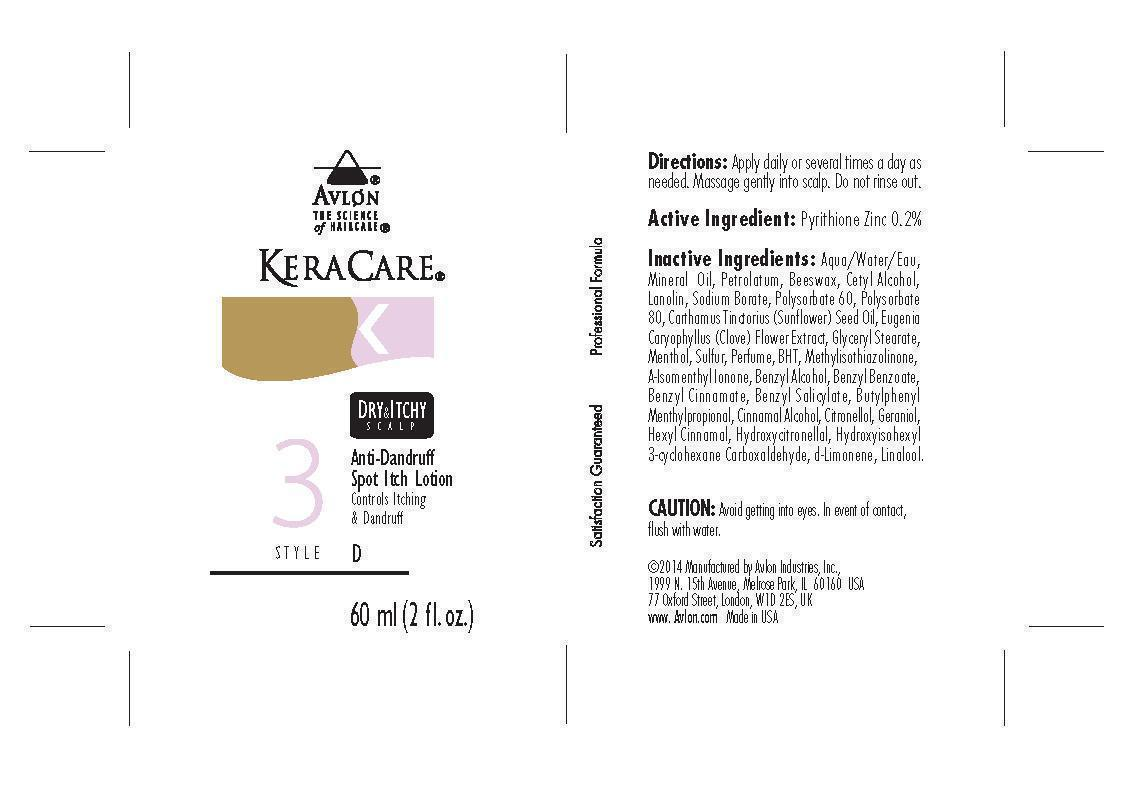Keracare Dry And Itchy Scalp Anti Dandruff Information