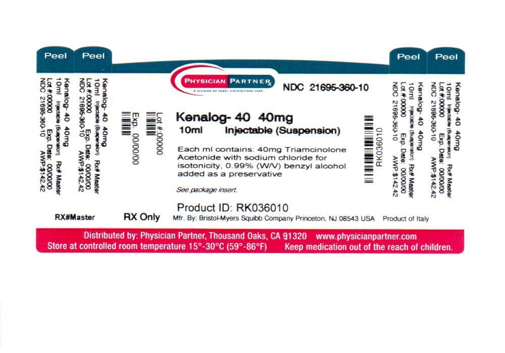 Kenalog 40 Information Side Effects Warnings And Recalls