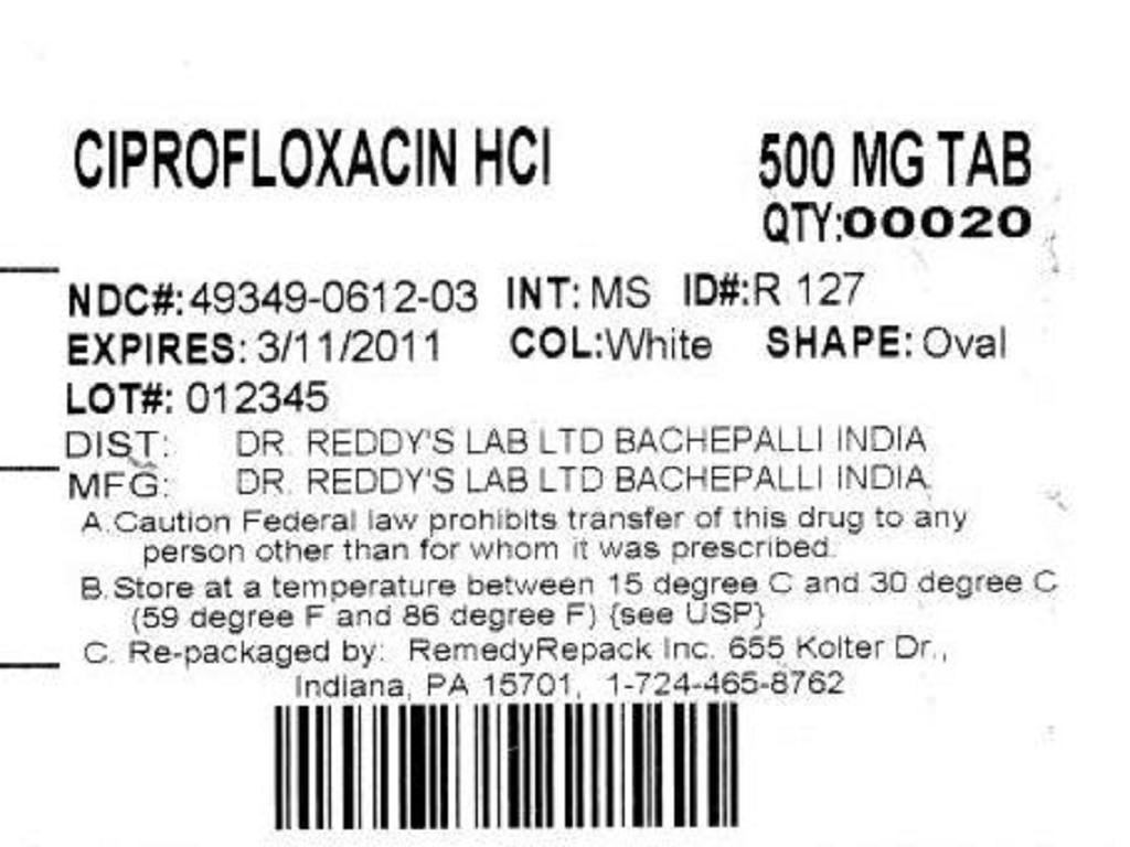 Ciprofloxacin Hydrochloride - ciprofloxacin hydrochloride image