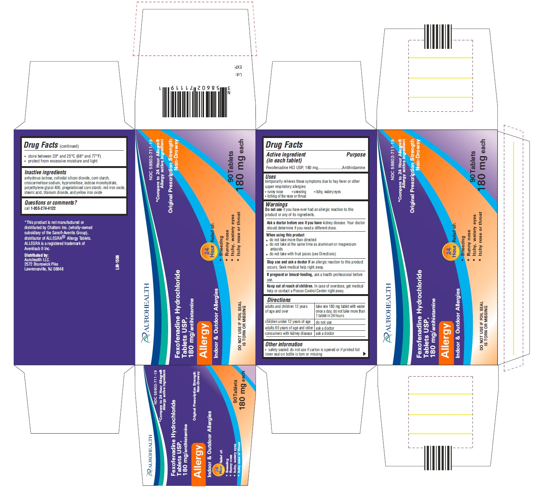 Fexofenadine hcl 180 mg 24 hour.doc - Fexofenadine Hydrochloride Tablet Film Coated Aurohealth Llc