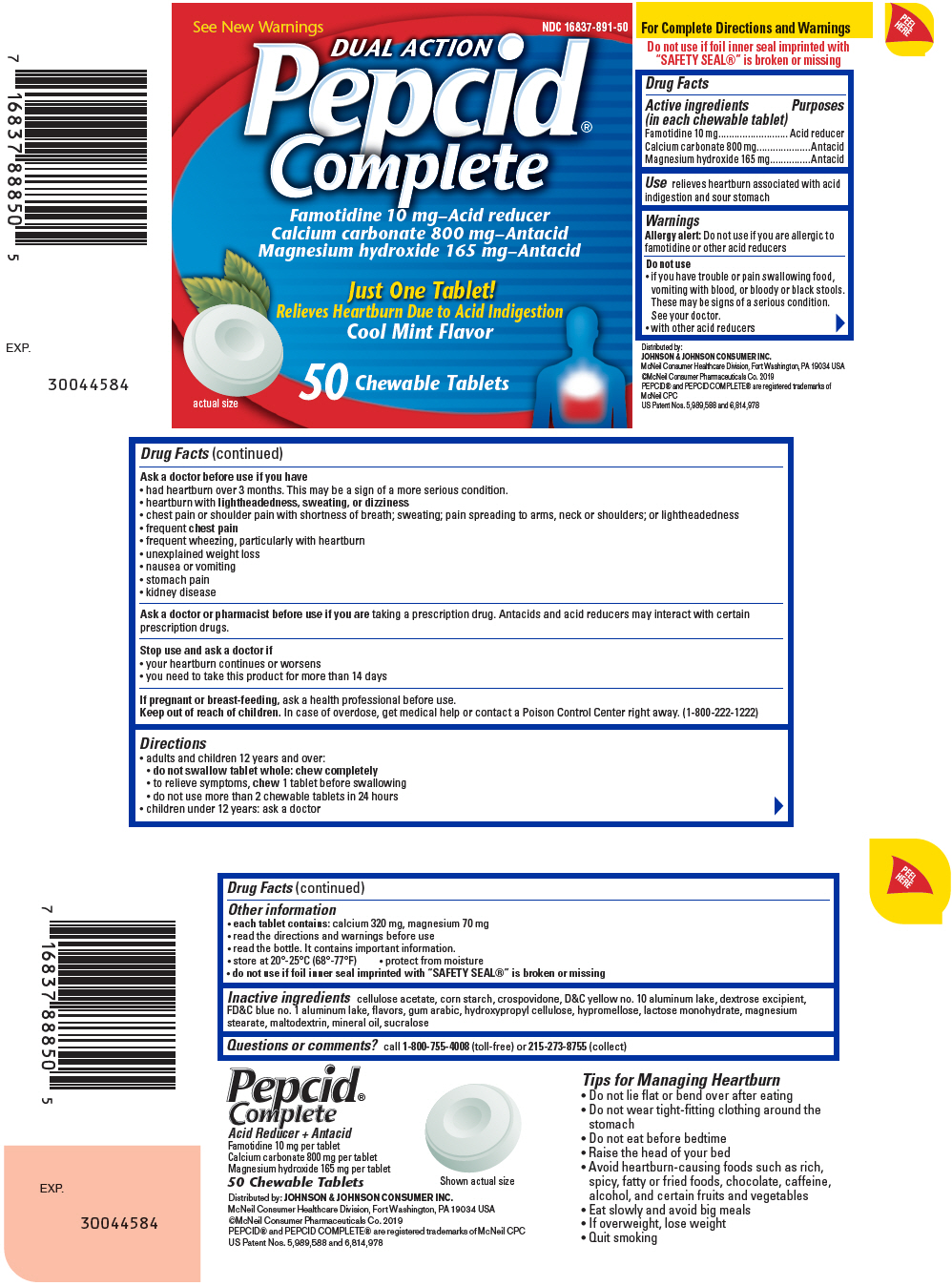 Pepcid Complete Information Side Effects Warnings And