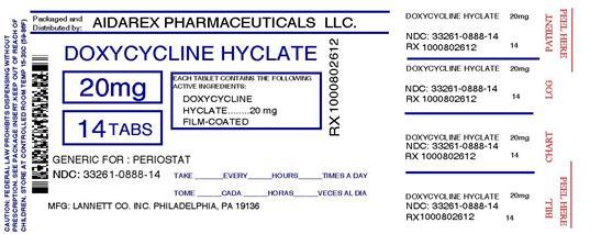 Doxycycline Hyclate Information, Side Effects, Warnings