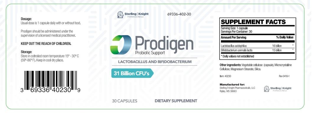 Dailymed Prodigen Lactobacillus Acidophilus Capsule