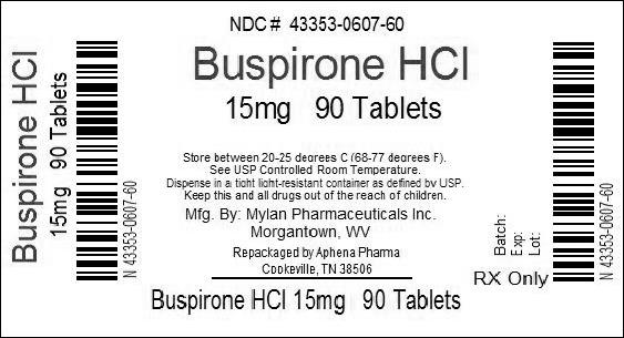 buspirone hydrochloride information side effects warnings and recalls