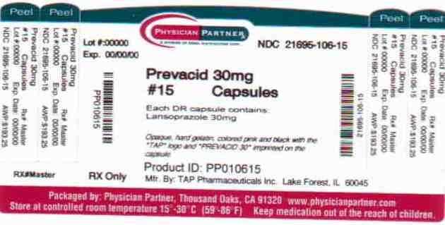 Prevacid Solutab Information Side Effects Warnings And