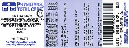 Dextroamphetamine saccharate, amphetamine aspartate monohydrate, dextroamphetamine sulfate and amphetamine sulfate - dextroamphetamine saccharate, amphetamine aspartate monohydrate, dextroamphetamine sulfate and amphetamine sulfate image