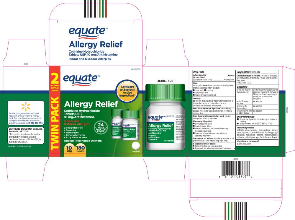 Amazon Cetirzine Hydrochloride Oral Solution 5mg: EQUATE ALLERGY RELIEF- Cetirizine Hydrochloride