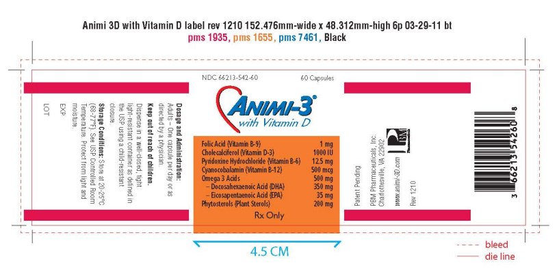 Animi-3 With Vitamin D Information, Side Effects, Warnings