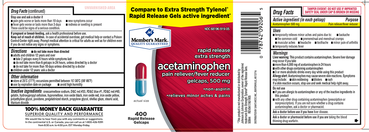 Acetaminophen Extra Strength Information Side Effects