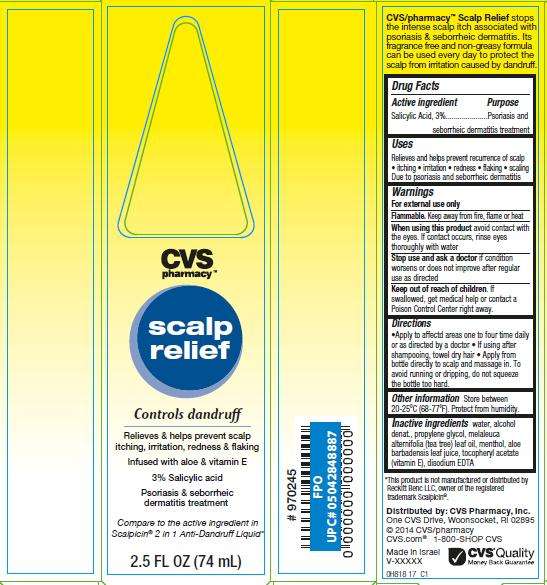 Cvs Scalp Relief Information Side Effects Warnings And