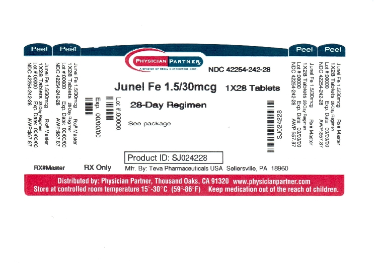Junel Fe 1 5 30 Information Side Effects Warnings And